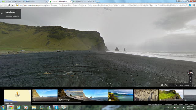 Awesome Looking Lava Beach Thing in Iceland